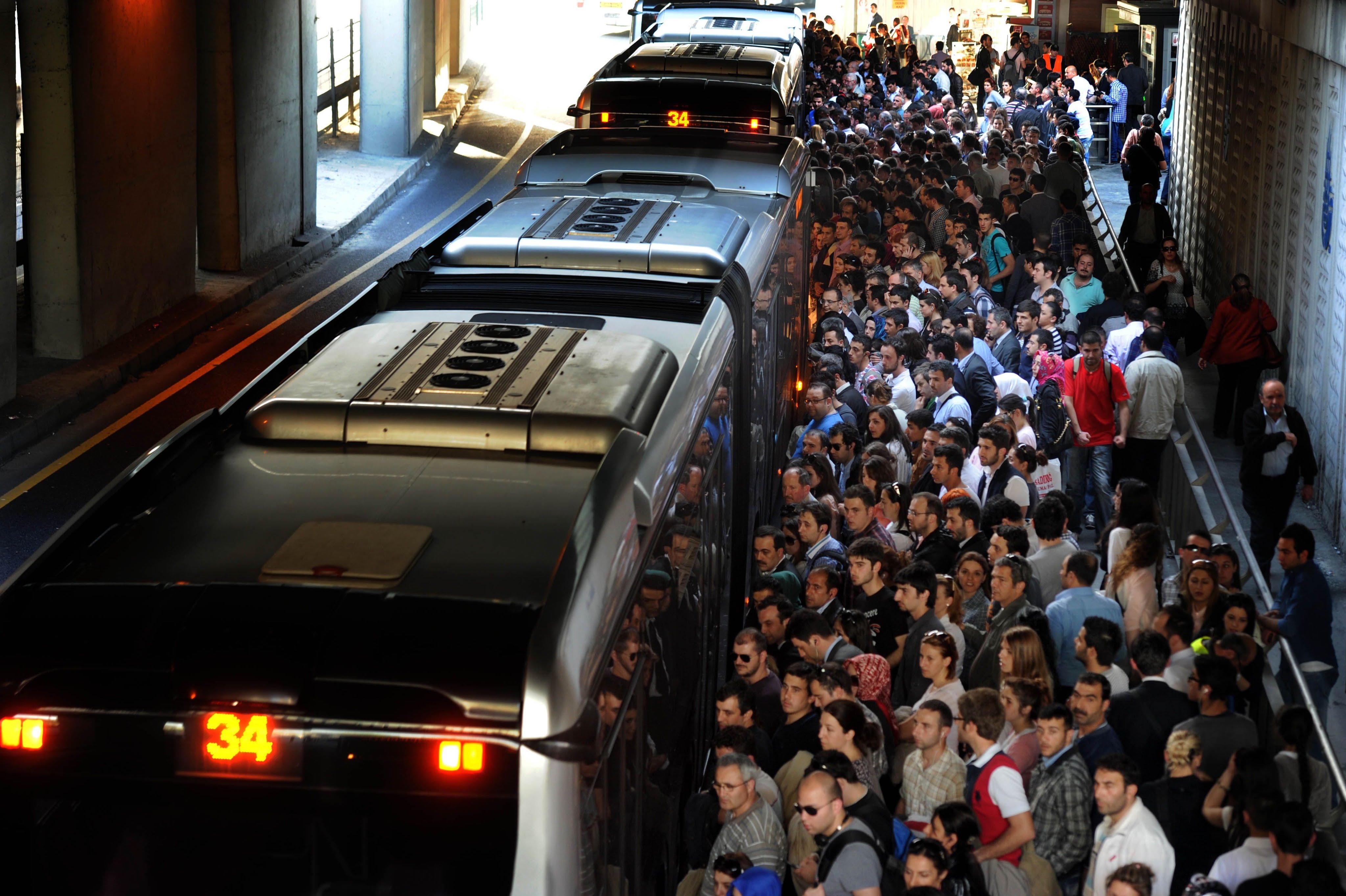 İstanbul Metrobüs Hattı