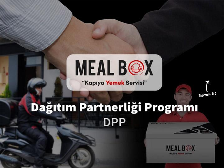 Meal Box Dağıtım Partnerliği Programı DPP