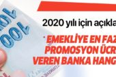 2020 yılında Bankaların Emekli Maaş Promosyon Oranları – Promosyonlar 2.500 TL'yi Buluyor