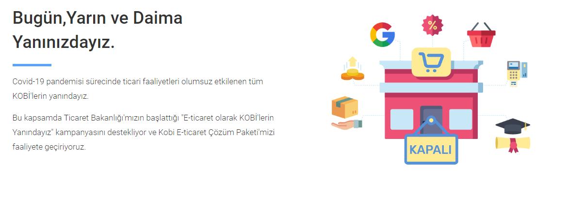 İdeaSoft Kobi Destek Paketi