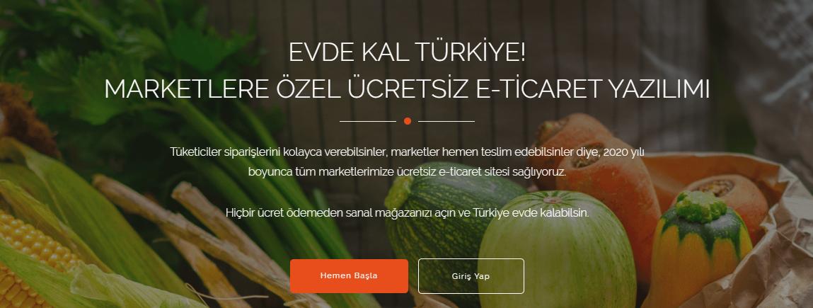 Tsoft - Ücretsiz Market Sitesi