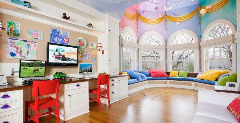 Çocuk Odası Dekorasyonları İçin Fikir Önerileri