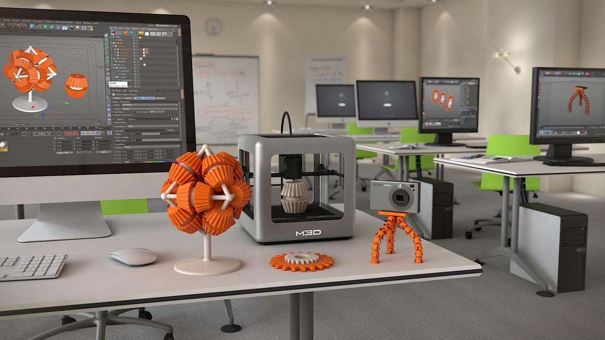 3D Yazıcılar İle Evden Para Kazanmak Artık Daha Kolay