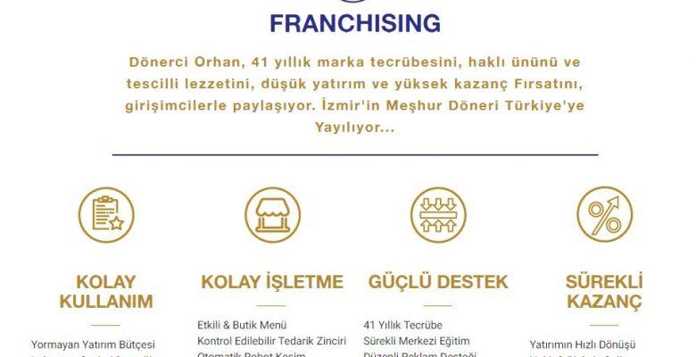 Dönerci Orhan Bayilik & Franchising Veriyor