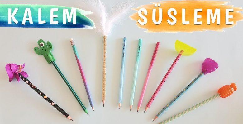 Evde Kalem Yapımı ve Kalem Süsleyerek Kazanç Sağlamak