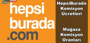 2019 Yılı HepsiBurada Komisyon Oranları